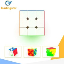 LeadingStar G3 Speed Cube Brain Teaser 3x3 Stickerless Twisty Puzzle Competition Magic Cube