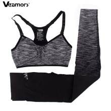 Buy VEAMORS Women Sports Yoga Sets Suits Fitness Bra&Pants Leggings Set Gym Workout Clothing Sportswear Running Set Slim Tracksuit for $12.99 in AliExpress store