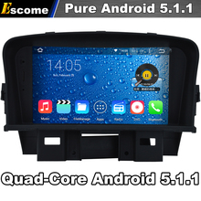 4 Cores Quad Core Android 5.1 Car DVD For Chevrolet Cruze Holden Cruze 2008 2009 2010 2011 2012 With 16G Memory Radio GPS(China)