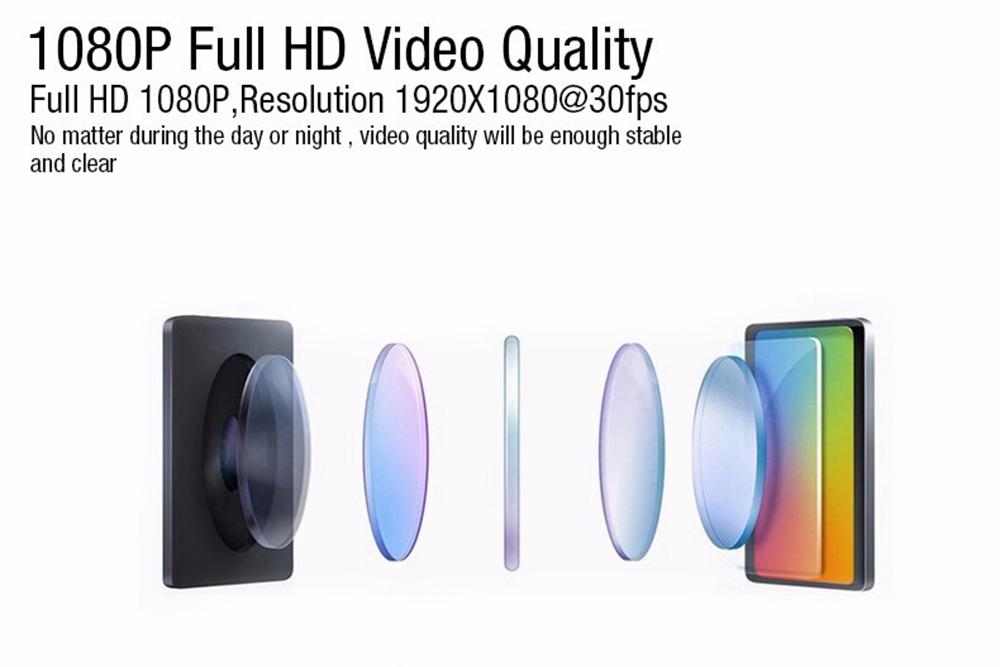 E-ACE Hidden Wifi Mini Car Dvr Full HD 1080P Video Recorder Night Vision Dvrs Auto Dash Cam Dual Camera Lens Automotive Car Cams 20