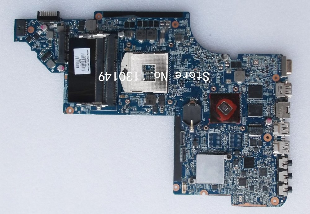 Free Shipping 665347-001 Motherboard for HP Pavilion DV6 DV6-6000 HM65 Working Well(China)
