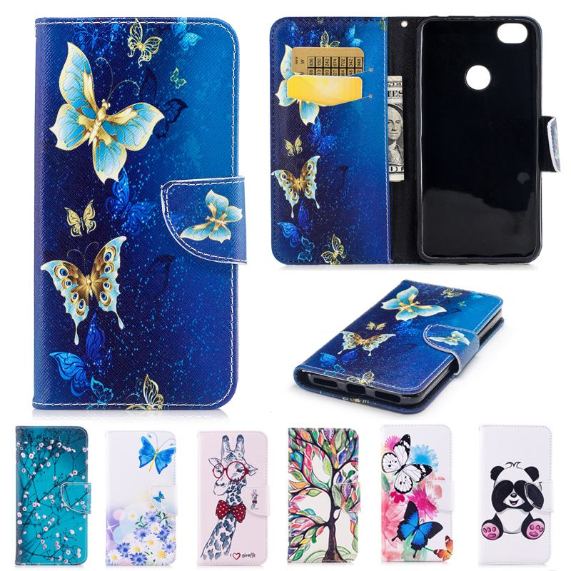 Xiaomi redmi Note 5A case Painted Butterfles Pattern Phone Case Xiaomi redmi Note 5A Flip Case Leather Back Cover