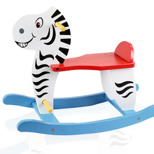 High Quality SGS Certification Wooden Rocking Chair Toys Rocking Horse For Kids Toy For Children WD30(China)