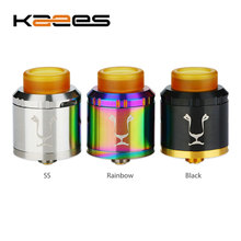 Buy Original KAEES Aladdin BF RDA Tank Triple Adjustable Airflow System & Bottom Feeder Pin & 510 Drip Tip E-cig Vape Atomizer for $22.62 in AliExpress store