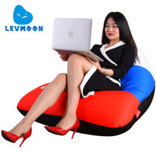 LEVMOON Beanbag Sofa Chair Russian Flag Seat Zac Bean Bag Bed Cover Without Filling Indoor Beanbags(China)