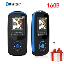 Mini 16GB mp3 Bluetooth Sport RUIZU X06 Digital Sound MP3 Music Player Video Player HIFI Stereo FM Radio mp3 player Bluetooth