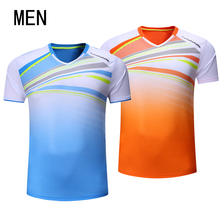 New tennis shirts, badminton suits, men's, summer fast shirts, sports shirts, sports clothes Free shipping(China)
