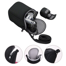 Mini Digital Video Camera Bag Cover for Sony S8600 X100T X100S X30 X-A1 X-A2 X-M1 Micro Camera Protective Case Pouch with Strap