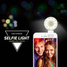 10 LEDs flashlight for camera Phone IOS Android 6 5S support multiple Photography usb smartphone sync flashes mini selfie light(China)