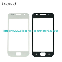"10pcs/lot High Quality 4.0"" For Samsung Galaxy S1 I9000 Replacement Touch Panel Glass Front Glass Lens Black White(China)"