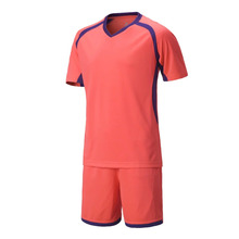 2017 new arrival top survetement football kids training suit mesh youth team football training suits print football jersey suits(China)