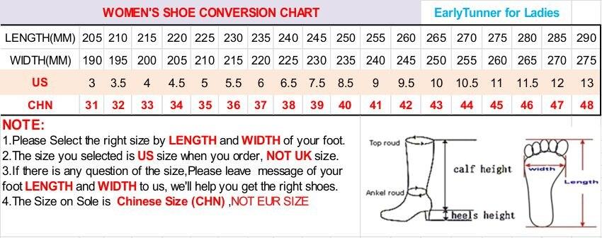 New size chart