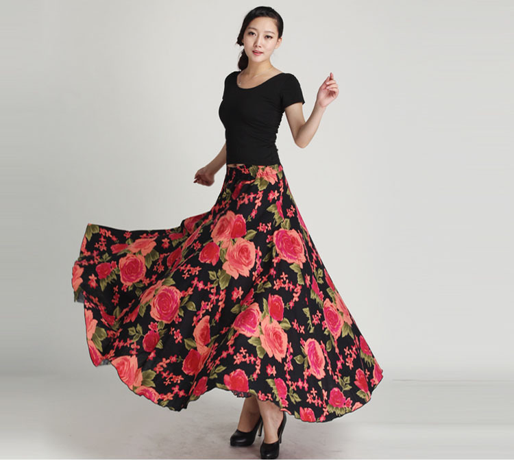 High Quality Long Skirts for Muslim Women with Print-Buy Cheap ...