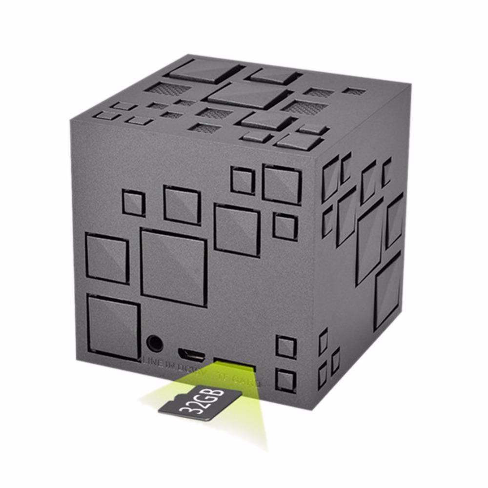 square creative mini wireless bluetooth speaker sound box