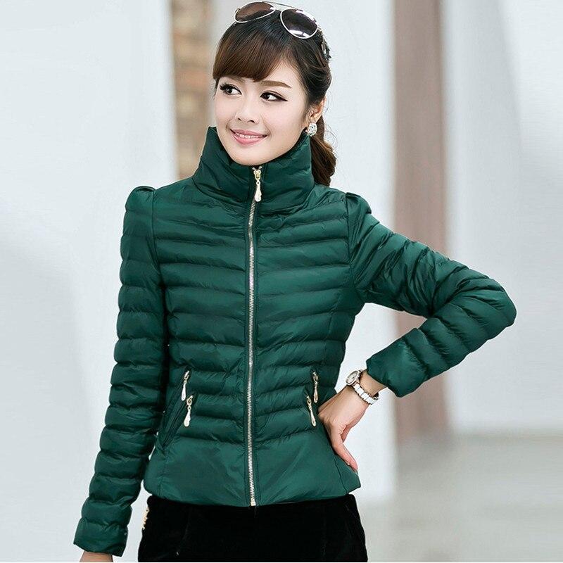 Autumn Winter New Female Padded Down Short Coat Korean Women Slim Thick Cotton Jacket Plus Size Coats casaco feminino JY-684Одежда и ак�е��уары<br><br><br>Aliexpress
