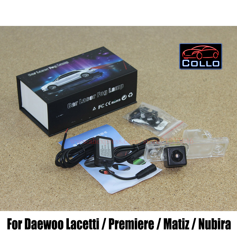 Car Rear Laser Fog Lamp / For Daewoo Lacetti / Premiere / Matiz / Nubira / Anti-Collision Rear-end Auto safe Driving Lights LED<br><br>Aliexpress