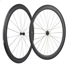 Accept DIY logo taiwan carbon wheels 12K matt bicycle wheels 50mm chinese carbon bike wheels basalt surface V brake wheels set