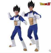 Hot Sale! Dragon Ball Vegeta Cosplay Costume Halloween Anime cosplay costume for adults/children