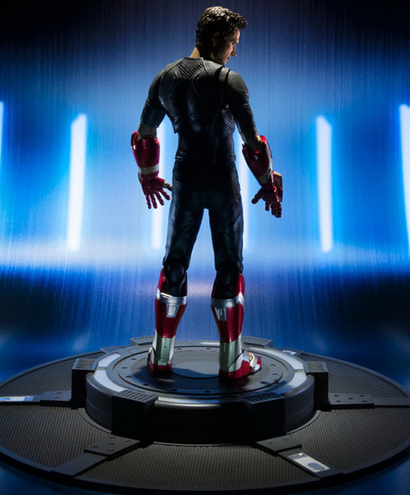 18cm Avengers Assemble Iron Man 3 Tony Stark Animated Doll Super Heroes PVC Action Figure Collection Model Toys (6)