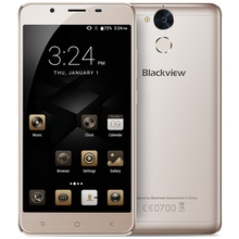 Blackview P2 Lite 4G Android 7.0 5.5 inch Smartphone MTK6753 Octa Core Mobilephone 3G 32G 6000mAh Battery 8.0MP+13.0MP Cam OTG
