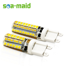 6PCS Energy Saving 220V 48 72 LED Lamp bulb Replace 3W 5W 7W 9W Fluorescent Light 2835 SMD G9 COB LEDs lampada led