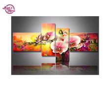 ANGEL'S HAND diamond painting 5 pcs/set triptych American Eagles rhinestones pasting decorative diamond embroidery mosaic