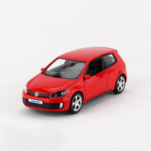 Pull back car 1/36 VW Golf GTI MK6 alloy models model car Diecast Metal Pull Back Car Toy For Gift Collection(China)