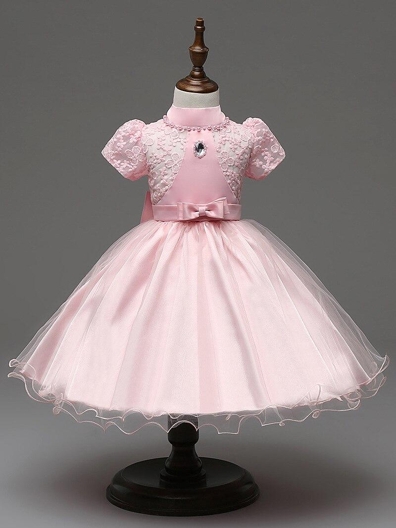 kids short sleeve crystal girls vintage lace dress for wedding girls age 7<br><br>Aliexpress