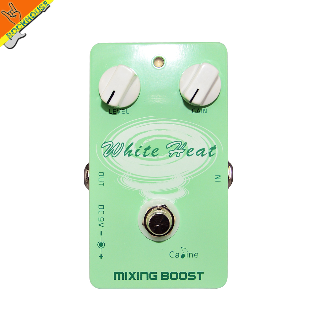 Caline White Heat Distortion Guitar Effects Pedal Classic Tube Distortion Pre-amp Stompbox Rock Style True Bypass Free Shipping<br>