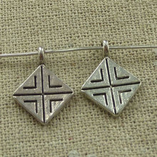 300 pieces tibetan silver nice charms 18x13mm #3535