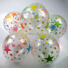 Buy 50pcs/lot 12 inch Round clear star balloons pearl latex helium balloons birthday wedding party decoration,transparent ballon for $6.99 in AliExpress store