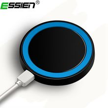 Buy Essien QI Wireless Charger Pad Standard, Charging iPhone 8 X Samsung Galaxy S8 Note 8 Plus 10W Fast Wireless Charging for $2.69 in AliExpress store