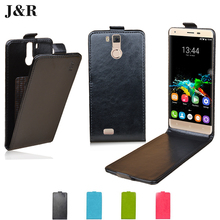 K6000 PRO Flip Leather Case For OUKITEL K6000 Pro 5.5 Inch Vertical Cover Protective J&R Magnetic Luxury Mobile Phone Bag & Case