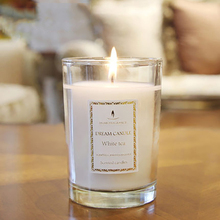 Smokeless Aromatherapy White Candle Gift Essential Oil Candela Blanche Yankee Decorative Candles Making Bougie Parfum DDZ152(China)
