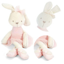 Cute 42cm Large Soft Stuffed Animal Bunny Rabbit Toy Baby Girl Kid Gift