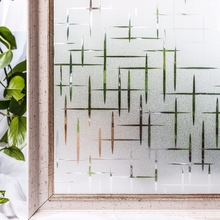 CottonColors Privacy Window  Films No-Glue Static Decorative Frosted Window Cover Stickers Size 45 x 200cm