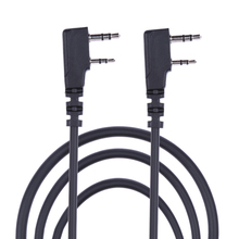 NI5L 5Pcs Clone Copy Cable for Puxing Wouxun Linton Kenwood Baofeng 2Pin Radio Wholesale