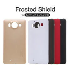 Original Nilkin Super Frosted Shield Hard Back PC Cover Case for Microsoft Lumia 950 Phone Case + Screen Protector