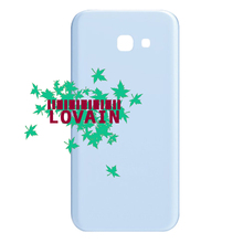 LOVAIN 50PCS Original Vietnam For Samsung Galaxy A7 2017 A720 A720F Back Battery Cover Glass Housing Case+Adhesive+IMEI Print(China)
