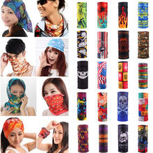 59 Patterns Sport Multifunction Head Scarf Magic Headband Mask Wrap Bandana Cuff
