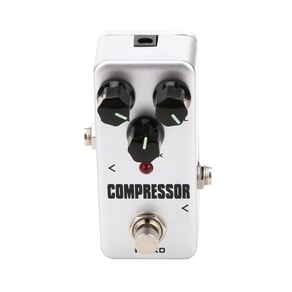 Mini Portable Guitar Compressor Pedal Portable True bypass Guitar Effect Pedal Aluminum Alloy Guitar Accessories <br><br>Aliexpress