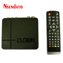 K2 DVB-T2 DVBT2 Set Top Boxes Digital Terrestrial Receiver 1080P DVB-T2 H.264 MPEG4 PVR Video TV Box With Remote Control
