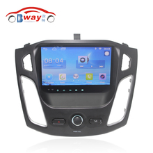 "Free Shipping 9"" Quad core Android 6.0.1 Car DVD Player For Ford Focus 2012 car GPS Navigation bluetooth,Radio,wifi(China)"
