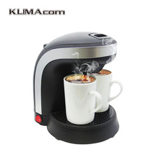 Two ceramic cups Coffee machine kitchen appliances Small Electric drip coffee makers Kaffeemaschine 240V