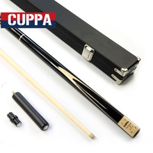 New Cuppa 3/4 Snooker Stick Snooker Cue Case Set 9.8mm Tip Maple/Ash Wood Shaft Options China