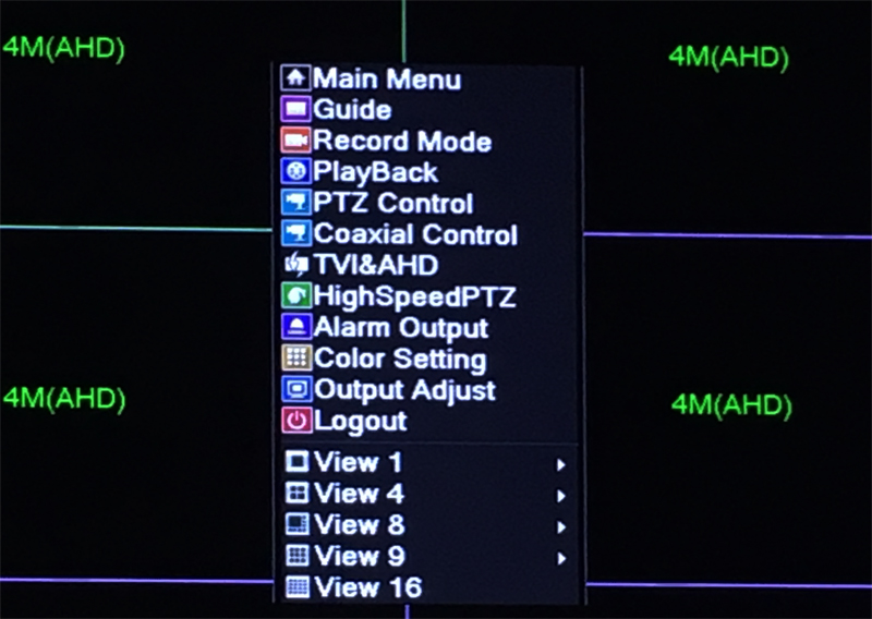 XMeye Hisilicon Chip H264+ 16CH 4MP Full HD 5 in 1 Hybrid Coaxial WIFI ONVIF TVi CVI IP NVR AHD CCTV DVR pciture 02