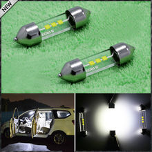 "Xenon White Festoon 1.25"" 31mm LED Bulbs DE3175 DE3022 DE3021 For Car Interior Dome Lights, Cargo Area Trunk Room Lights, etc"