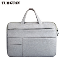 TUGUAN Men/Women laptop Bags Briefcase Portable Waterproof Notebook bag for Male Computer Case Handbag Business 14/15 Inches