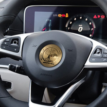 Amg stainless steel AFFALTERBACH car steering wheel Badge for Benz w117 cla45 w205 c63 w212 e63 w207 w176 a45 x156 gla45