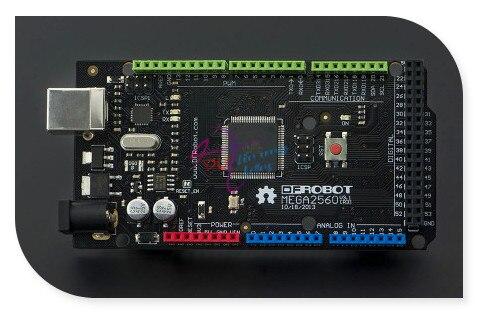DFRobot DFRduino Mega 2560 V3.0/R3 micro controller, ATmega2560 256KB 16MHz compatible with Arduino Mega 2560 R3 for 3D Printer<br>